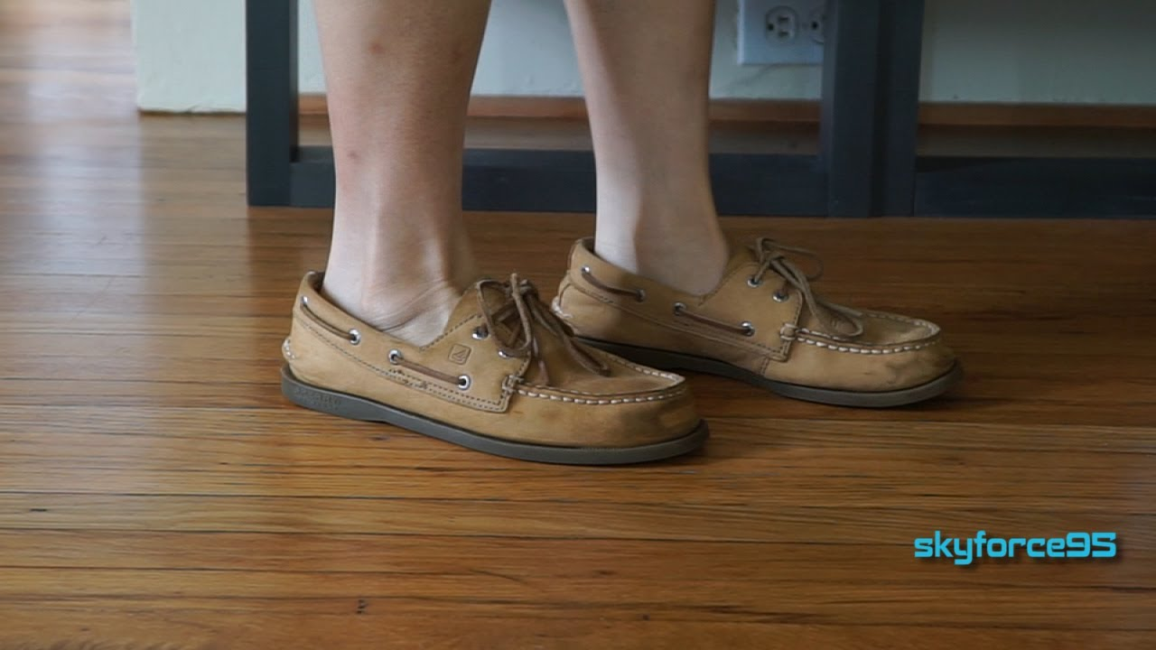 12c8828943d3 Sperry Authentic Original Boat Shoe (Sahara) Review - YouTube