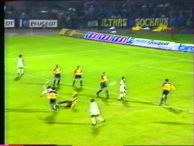 Résumé FC Sochaux - FC Nantes 1994-95