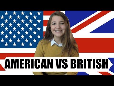 AMERICAN VS BRITISH ENGLISH || Sara Guggi