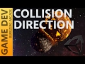 Collision Direction Detection - 2D Game