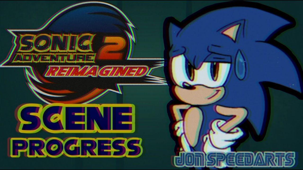 Sonic Adventure 2 Reimaginated (Scene Progress) - Jon SpeedArts