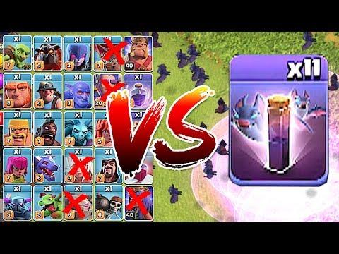 ALL BATS vs. ALL TROOPS!!