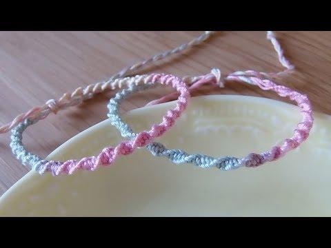 色 ミサンガ 作り方 3
