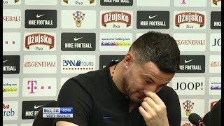 Хорватский голкипер заплакал во время пресс-конференции в Сочи