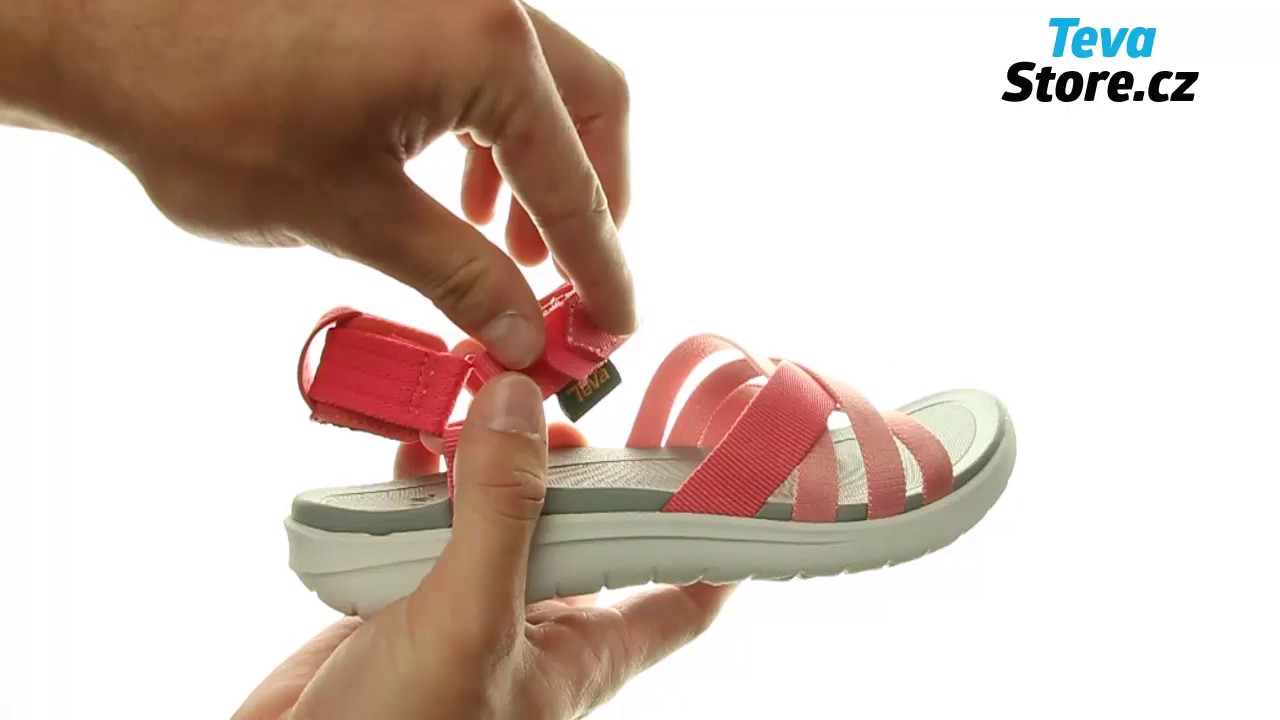 ce662cd921dc TEVA Sanborn Sandal 1015161 RCRL - YouTube