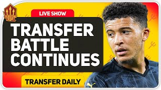 Sancho Transfer Still On! Man Utd Transfer News