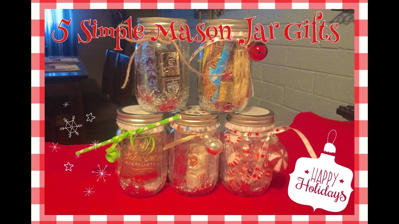 5 simple diy christmas mason jar gift ideas perfect for christmas gift giving youtube