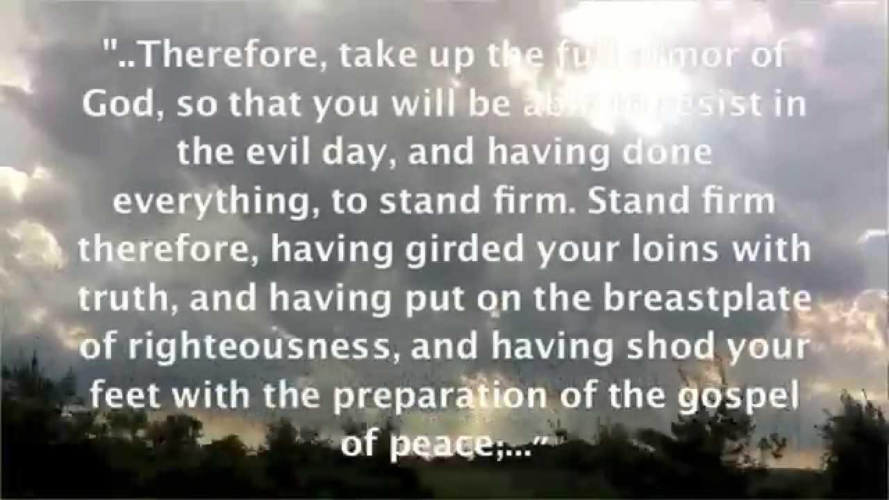 Spiritual warfare bible promises spoken youtube negle Image collections