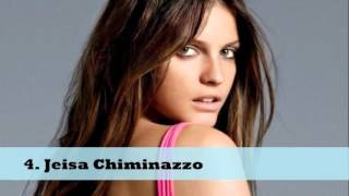 Top 10 Hottest Brazilian Models in the world 2015
