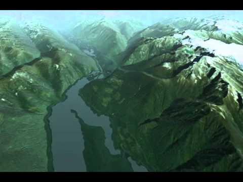 Duncan Lake Dam Flooding Visualization