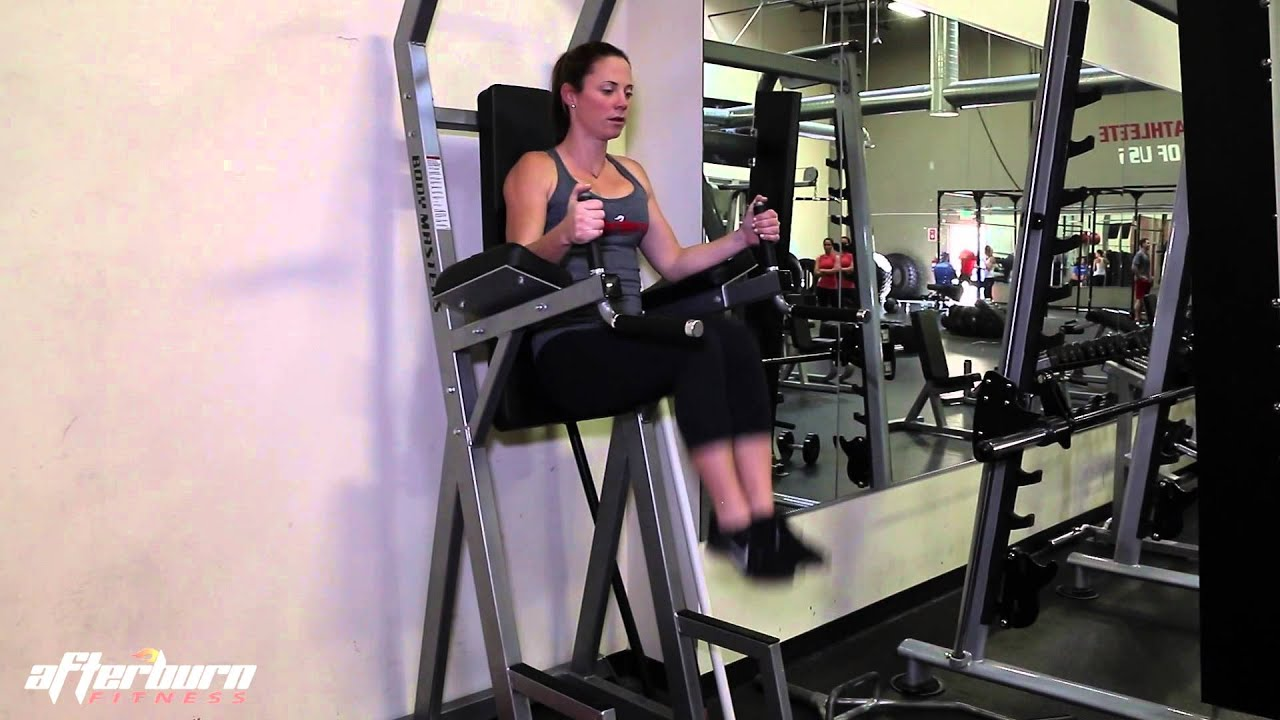ab cruncher chair office piston hanging or romain crunch youtube