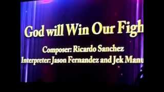 GOD WILL WIN OUR FIGHT by Jek Manuel and Jason Fernandez (Finalist, 3rd ASOP Music Festival)