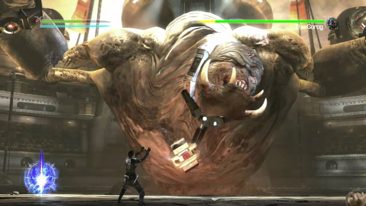 star wars the force unleashed 2 the gorog bossbattle part