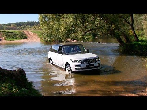 Range Rover Supercharged – полный OFFROAD! Ныряем в реку! via ATDrive