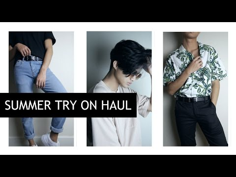 Summer Try-On Haul ft. boohooMAN || MENS 2017