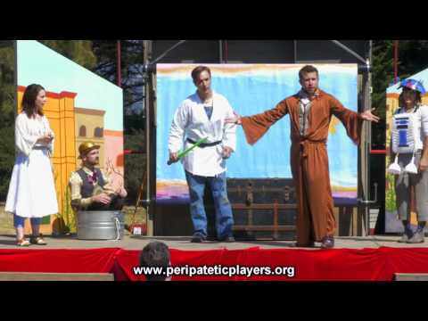 """The Peripatetic Players in """"Shakespeare or Space Wars"""" - Trailer"""