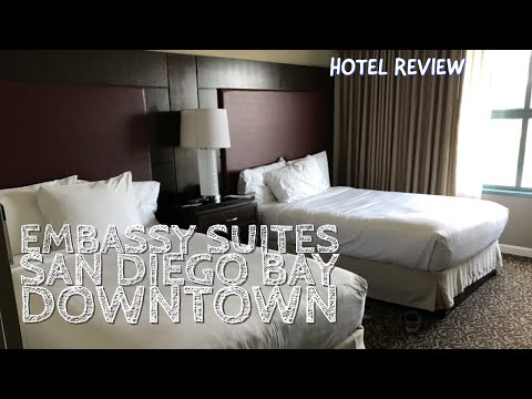 Embassy Suites San Diego Bay Downtown - Room Review ++