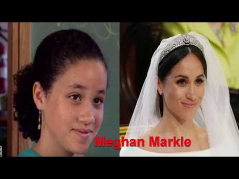 Royal Wedding Pictures  2018 ( Harry and Meghan) : Royal Family and Guests THEN & NOW