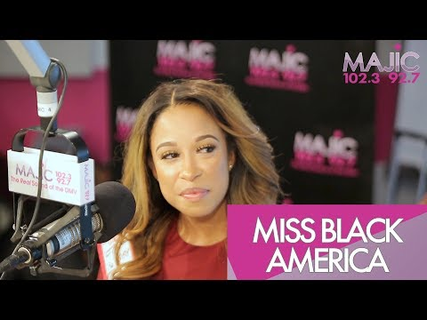 Donnie Simpson Sits Down With Miss Black America