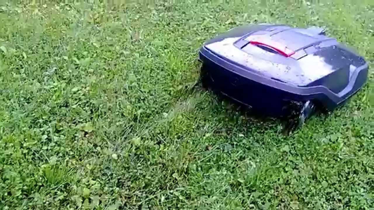Husqvarna Automower 265 ACX robottileikkuri Seinäjoen Konerengas Oy - YouTube