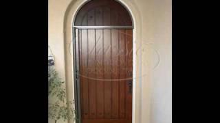 Chiproducts - Arched Stowaway Retractable Doors - Retractable Screen Door