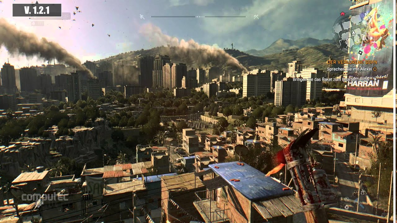 dying light the following патч 1.10.0