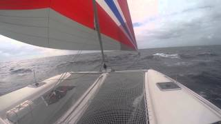 "2014 Outremer 45 Davali Sailing ""chill zone"""