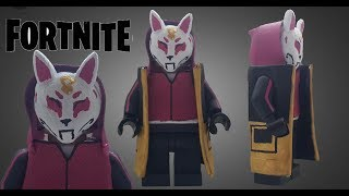 LEGO Custom Drift skin from fortnite