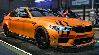 BMW M5 BUILD - Need for Speed: Heat Part 76