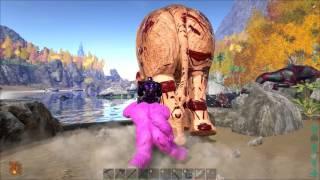 ARK: Survival Evolved S2E22 Gigantopithecus Level Up