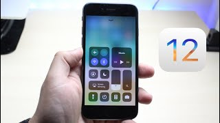 iOS 12 BETA On iPHONE 6! (Review)