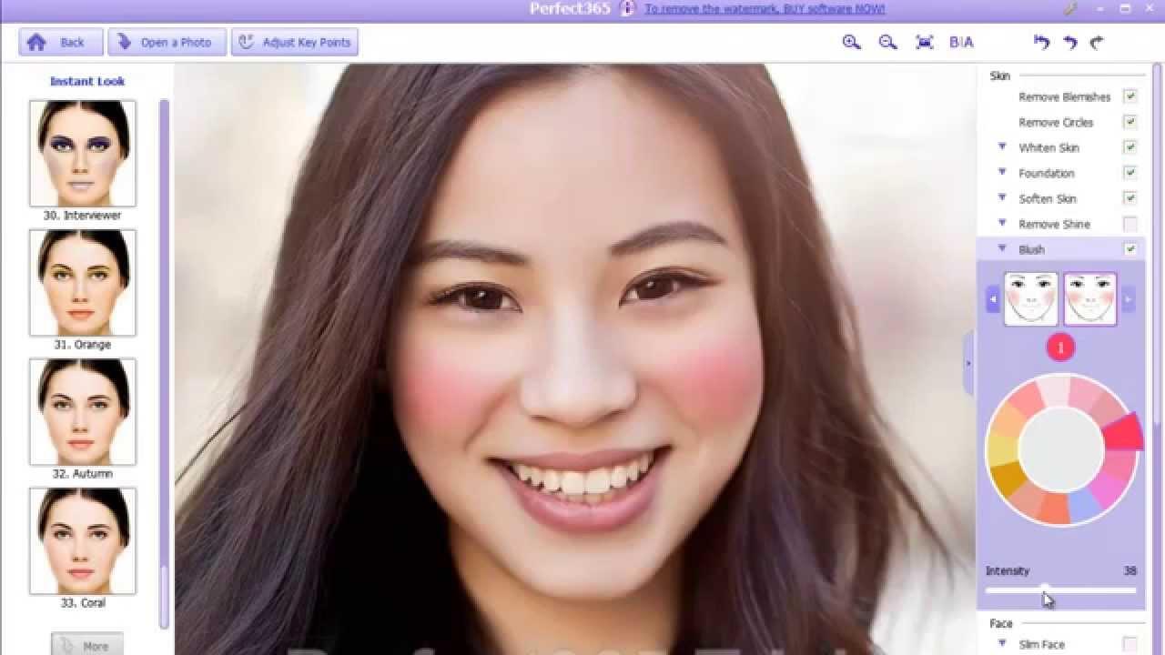apply makeup online photo editor – wavy haircut