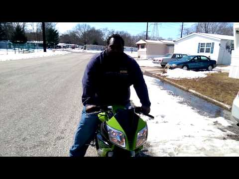 Motobravo 150 Motorcycle Scooter