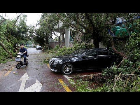 "Macaul cancela alertas depois da passagem de ""Mangkhut"""