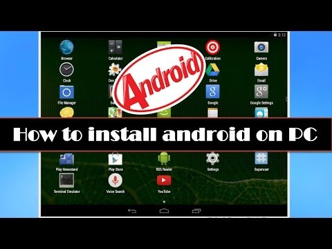 How To Install Android KitKat On Your PC