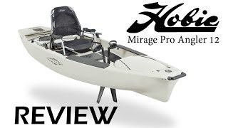 Hobie Kayak Review - Mirage Pro Angler 12(SPECIFICATIONS Width: 36