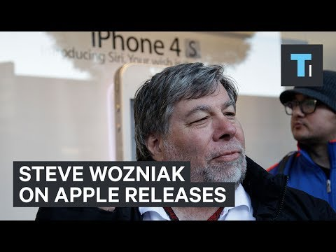 Why Steve Wozniak waited in line overnight for new Apple products