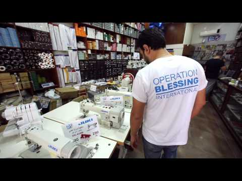 Sewing Life For Iraqi Refugees In Jordan