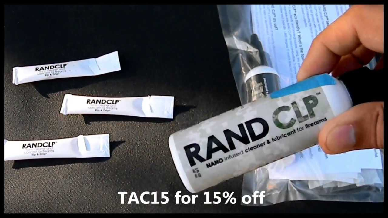 What's Your Favorite Gun CLP? Try Rand CLP Free - YouTube