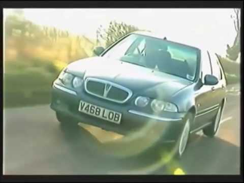 Old Top Gear PL - Rover 25, 45, 75