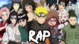 KONOHA 12 RAP CYPHER  RUSTAGE ft Dan Bull, NLJ &amp More Naruto