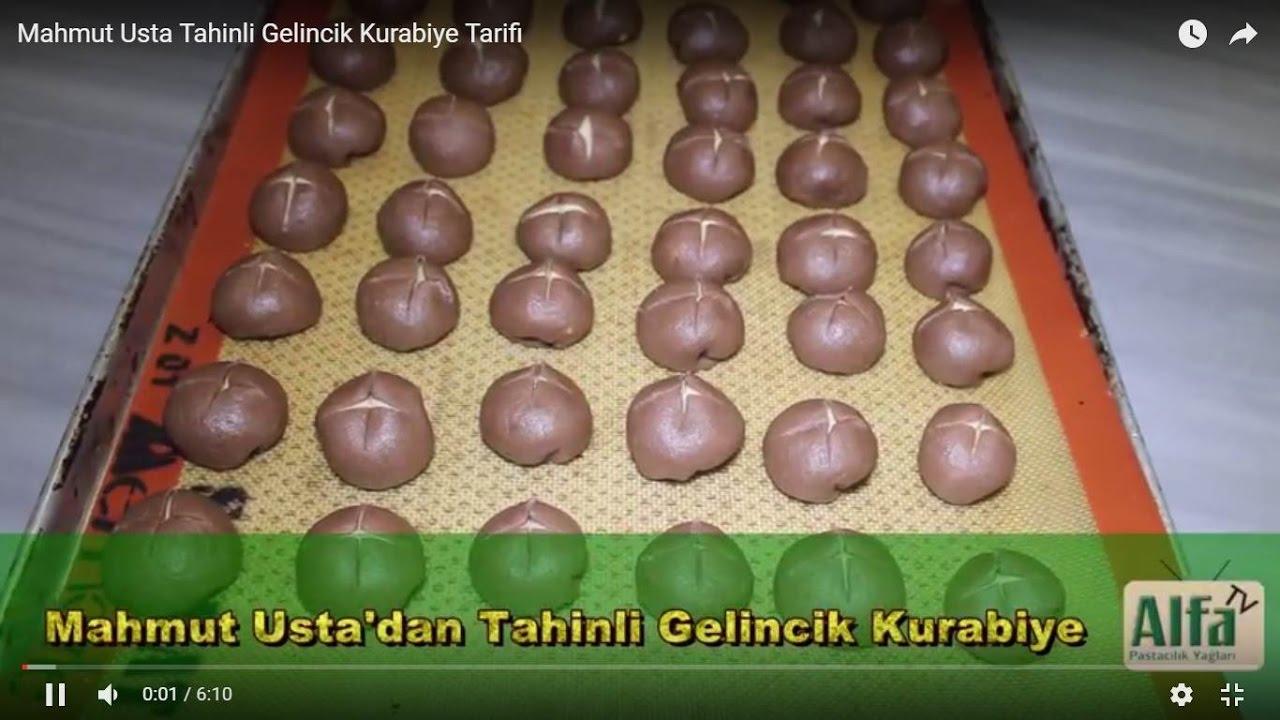 Tahinli Gelincik Kurabiye Tarifi - YouTube