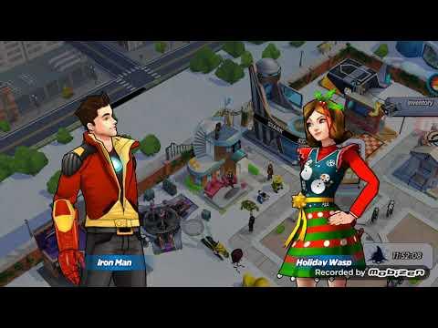 Avengers Academy Pet Avengers Unlocking Holiday Wasp