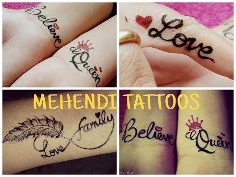 Stylish Tattoo Mehndi Designs Easily Temporary Tattoo