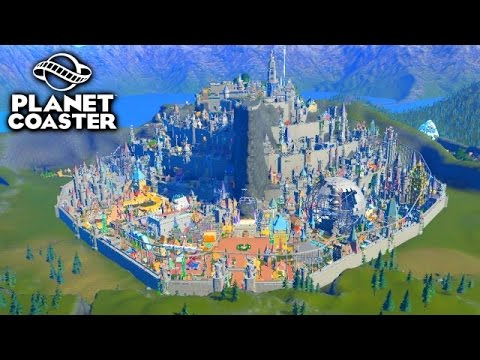 UNREAL MINAS TIRITH PARK - PLANET COASTER SHOWCASE