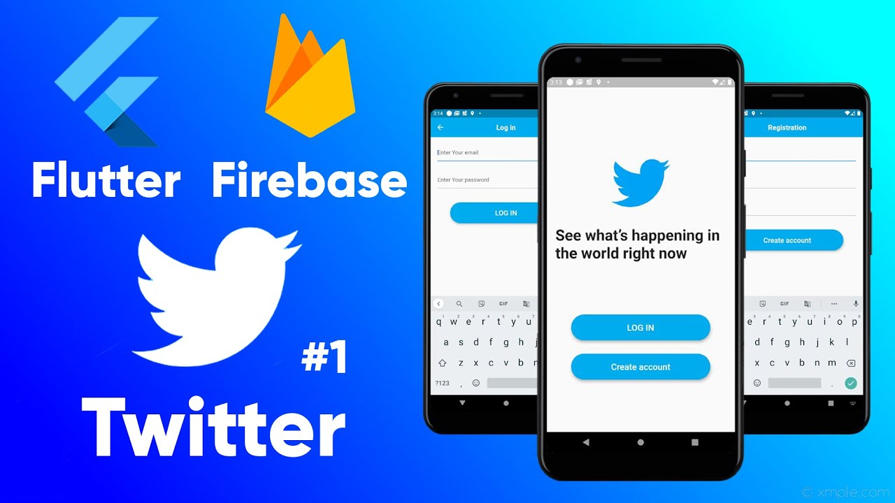 How to build Twitter with Flutter and Firebase