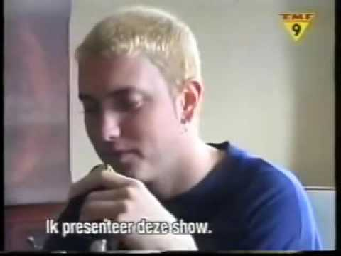 Eminem announcing his  favourite  videos on TMF Dutch television, Amsterdam 1999 xvid