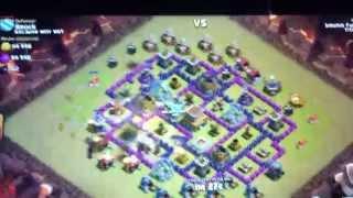 Começando a grava clash of clans (coc)-ataque de corredor!!