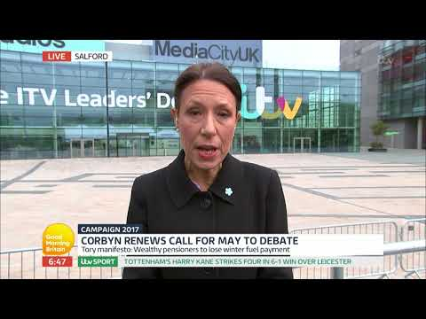 Debbie Abrahams Says the Tories Have 'Consistantly Broken Promises'   Good Morning Britain