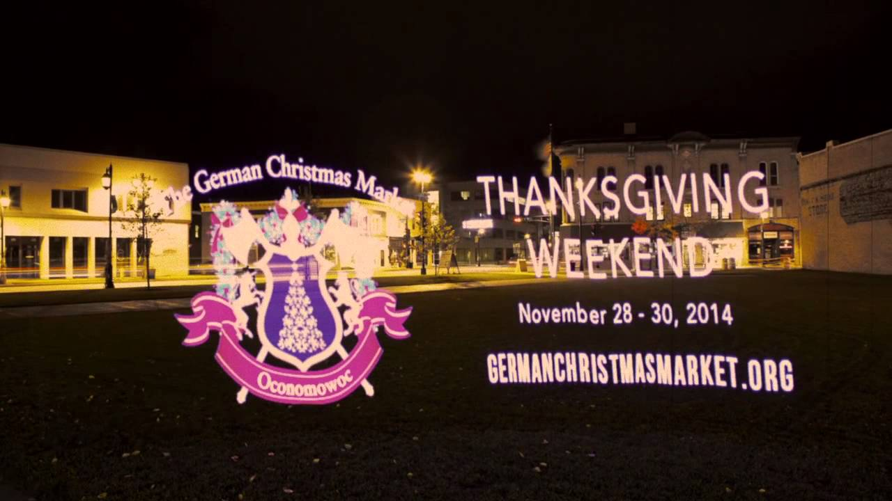 the german christmas market of oconomowoc thanksgiving weekend - Oconomowoc German Christmas Market